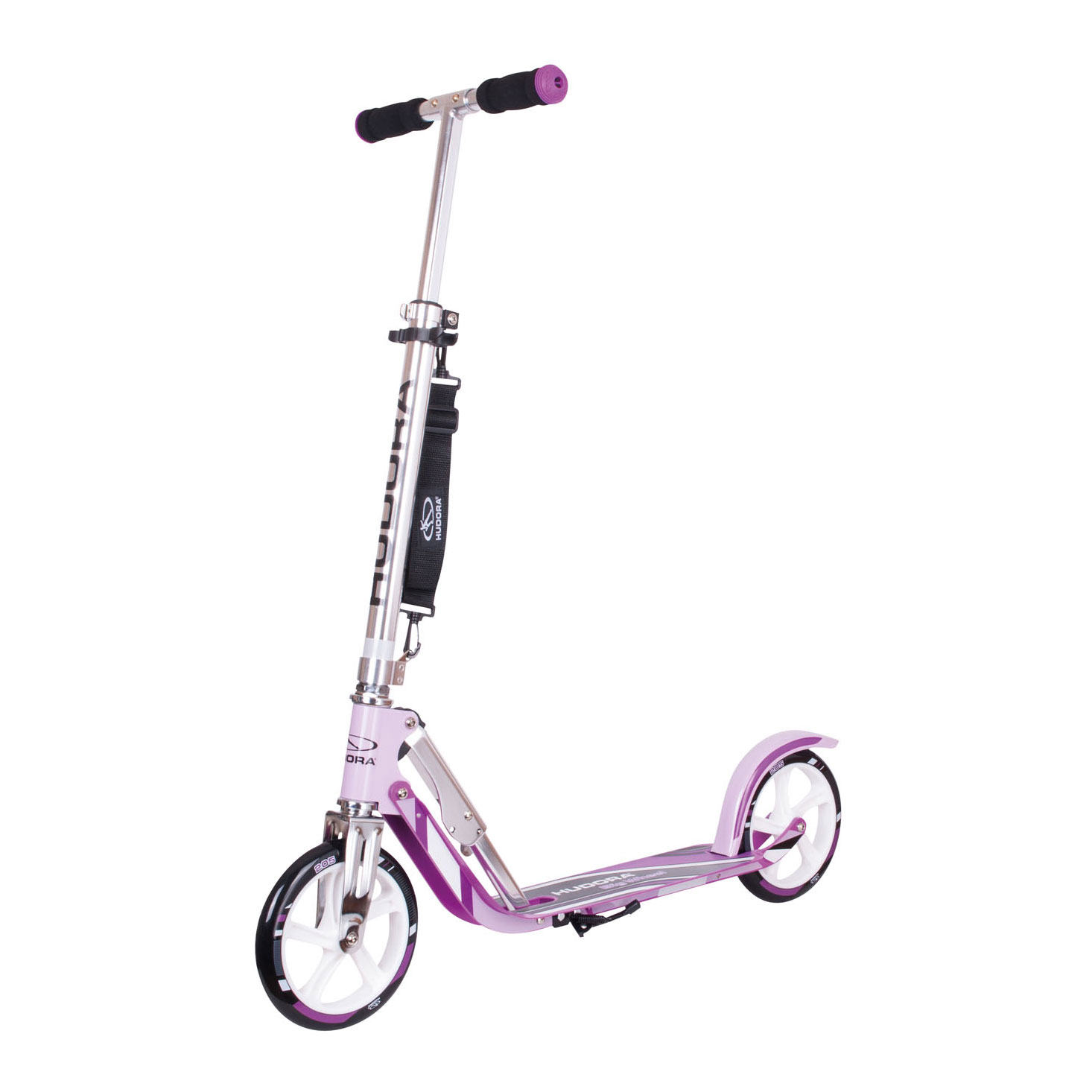 Hudora Scooter Big Wheel Step RX205 - Lila