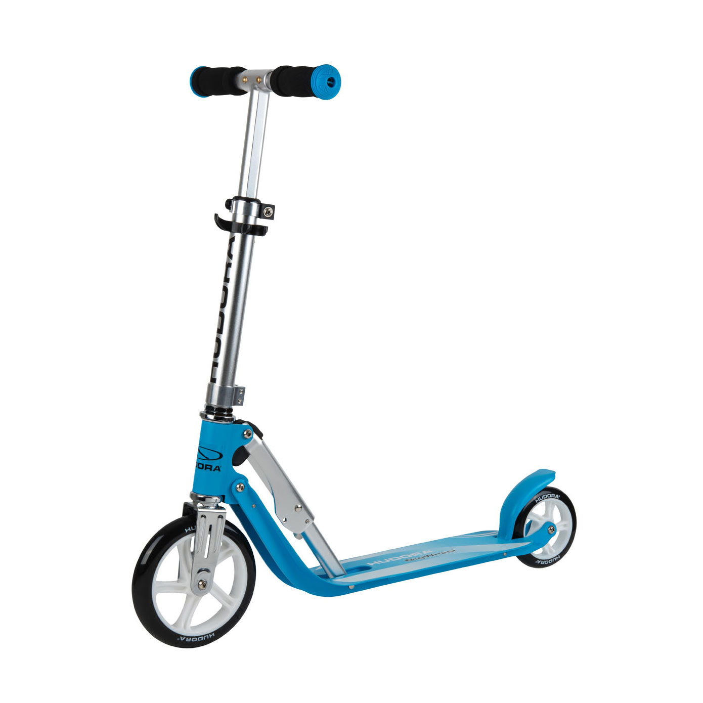 Hudora Little Big Wheel Scooter Step - Blauw