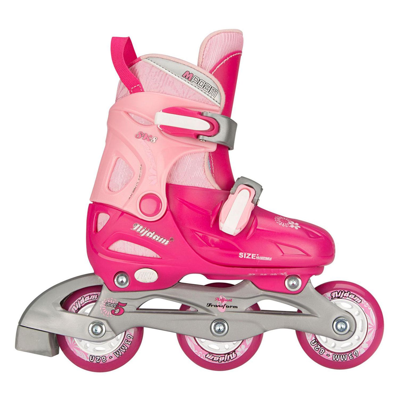 b2c22b7a0e8 Nijdam Inline Skates Junior 3in1 Hardboot Roze, maat 27-30 online ...