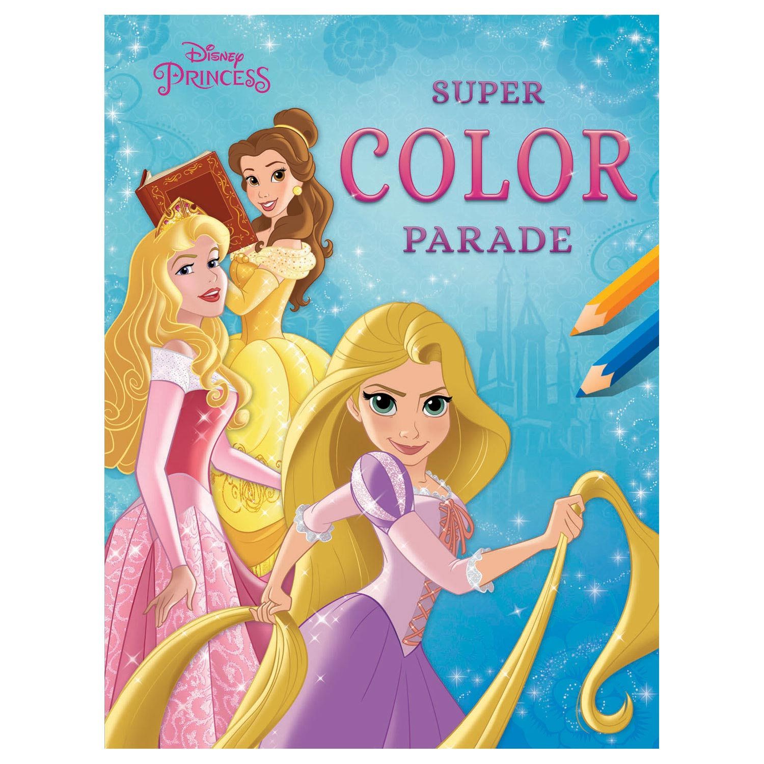 Disney Prinses Super Color Parade Kleurboek