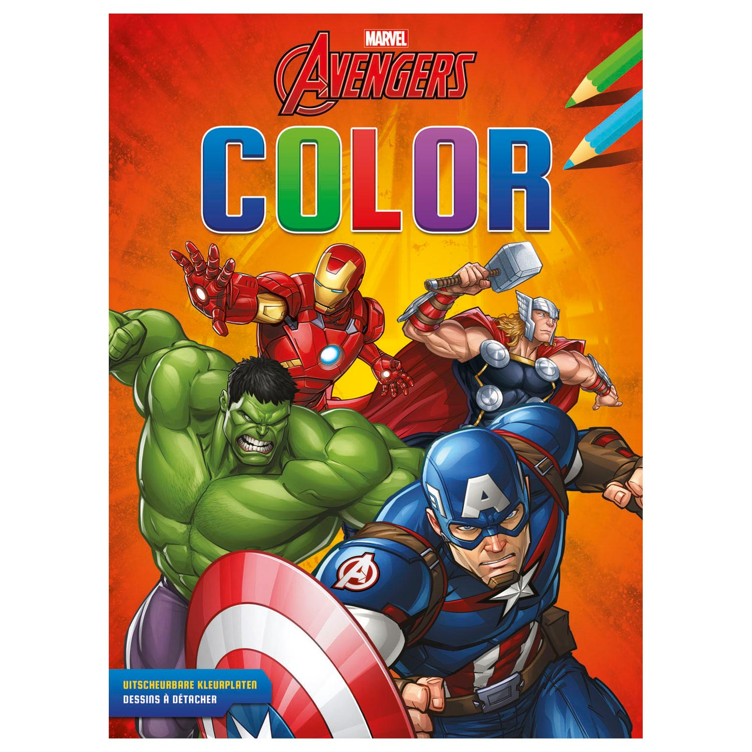 Avengers Color Kleurblok