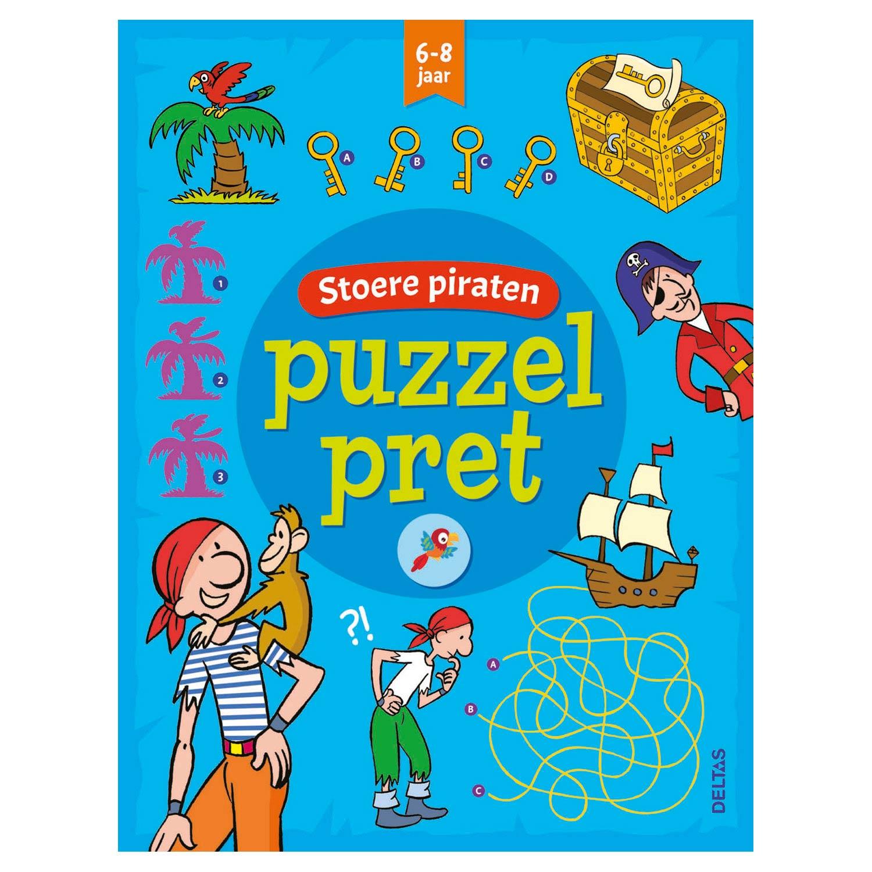 Spiksplinternieuw Puzzelpret - Stoere Piraten online kopen | Lobbes Speelgoed HO-65