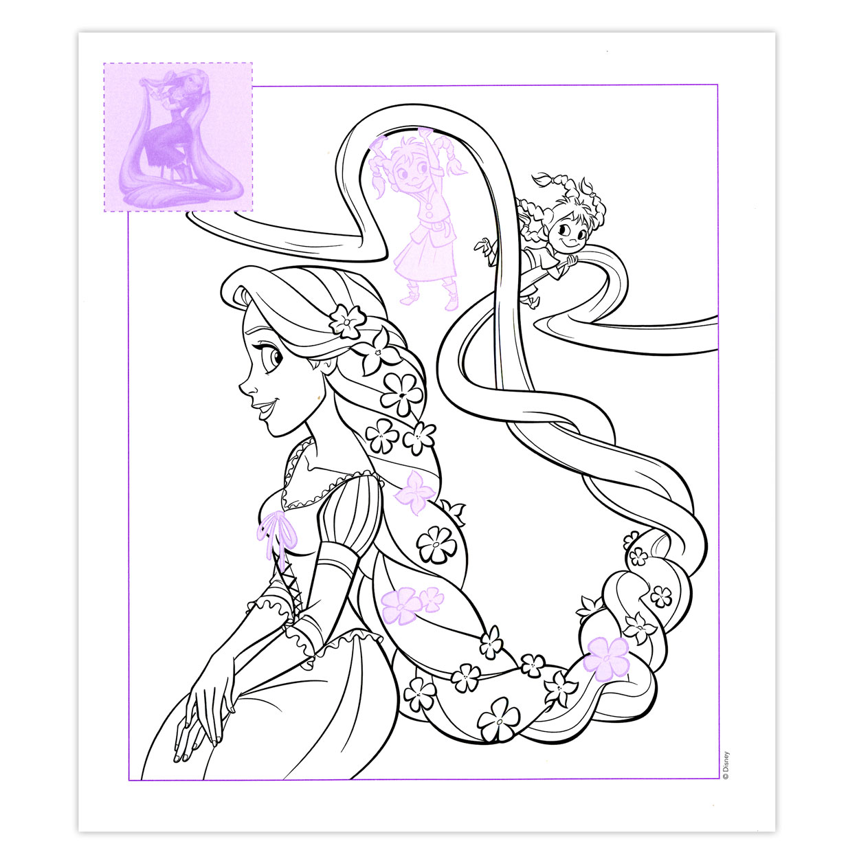 Sticker Parade Disney Rapunzel Online Kopen Lobbes Nl