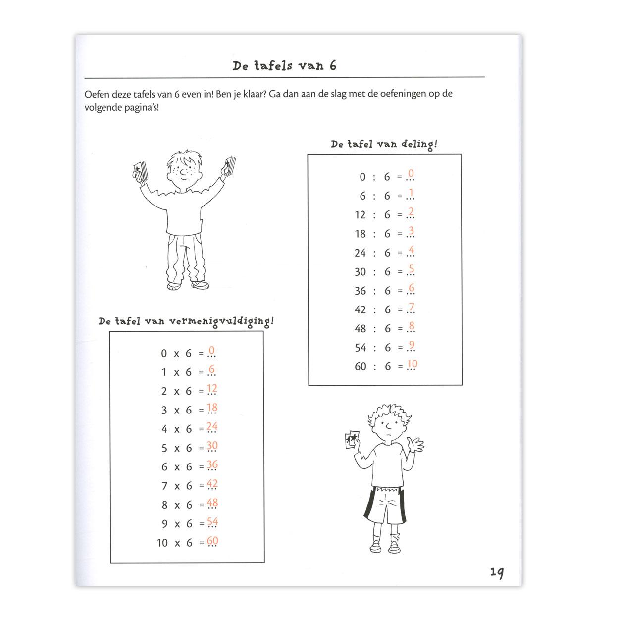 De Tafel Van 7.Ik Oefen De Tafels Van Vermenigvuldiging 7 8 Jaar Online Kopen