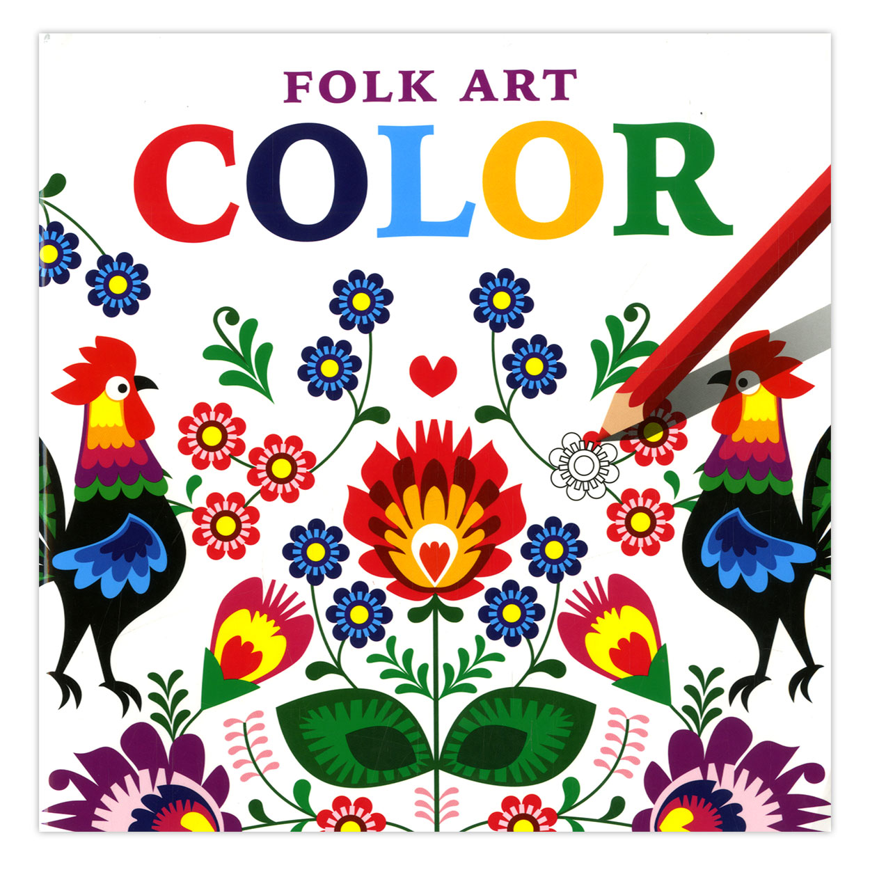 An Folk Art Coloring Pages
