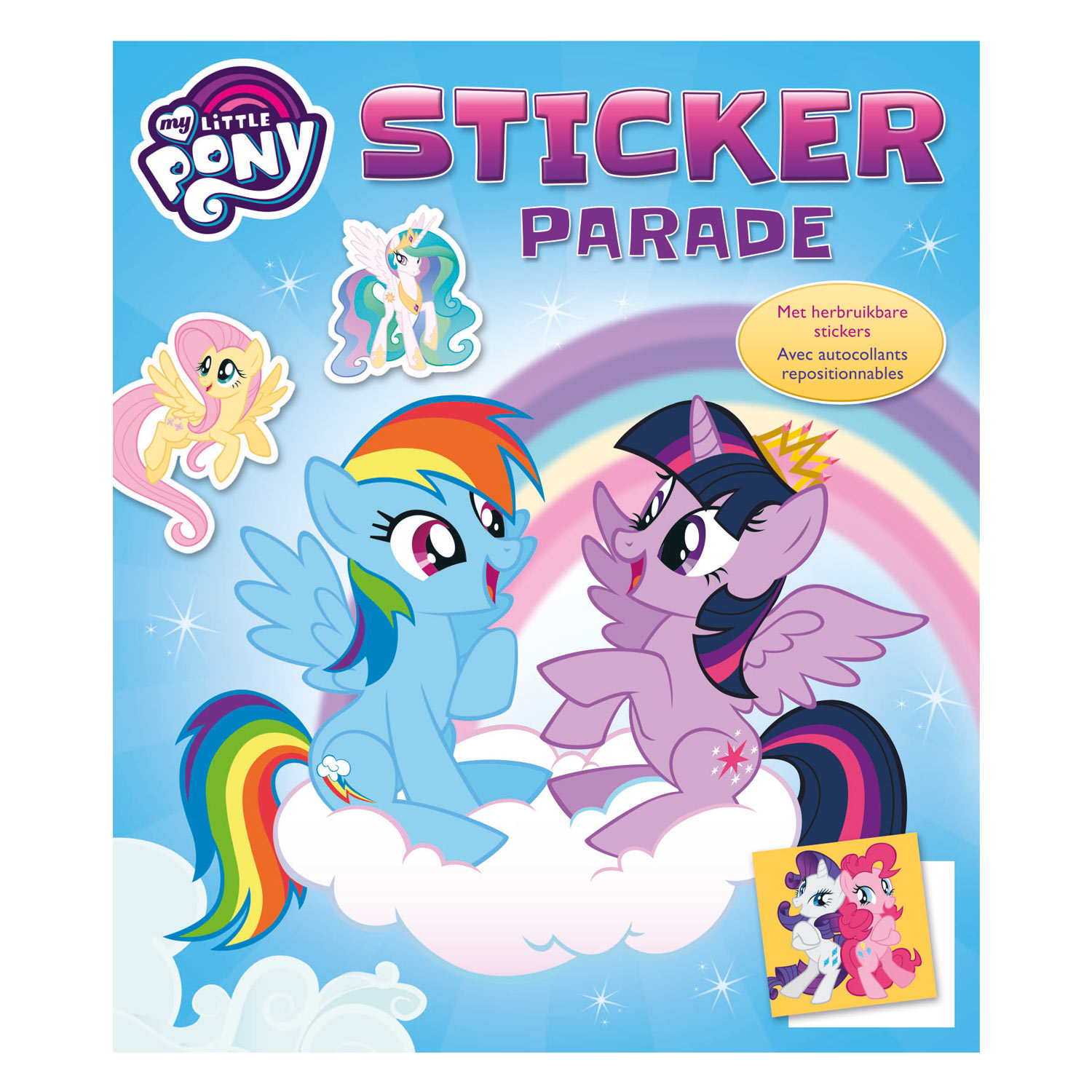 Stickerparade My Little Pony