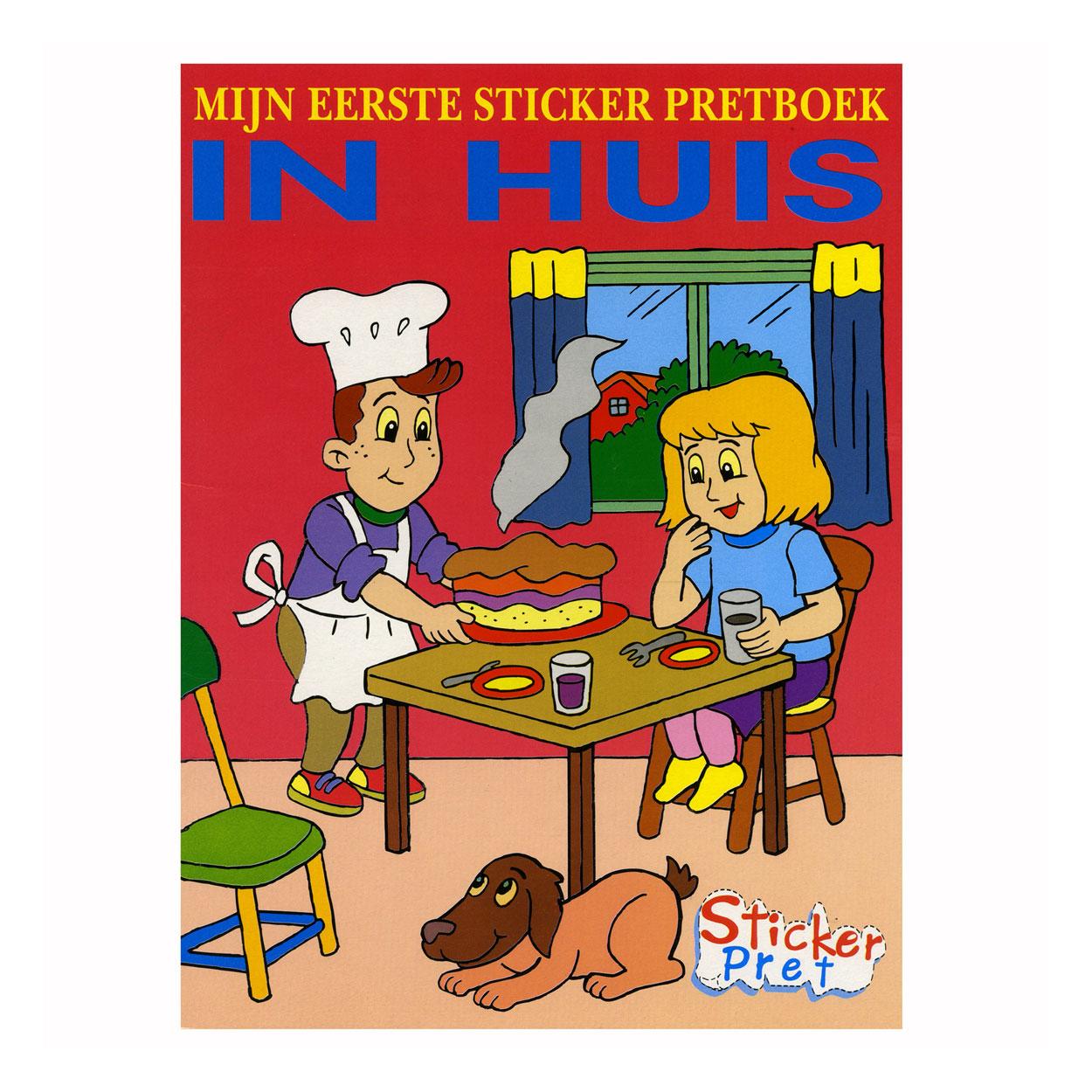mijn eerste sticker pretboek in huis online kopen