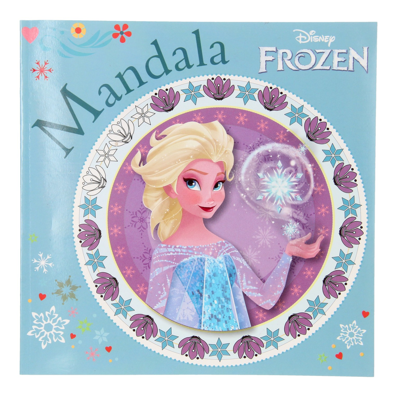 Mandala Kleurplaten Bestellen.Disney Frozen Mandala Kleurboek Online Kopen Lobbes Nl