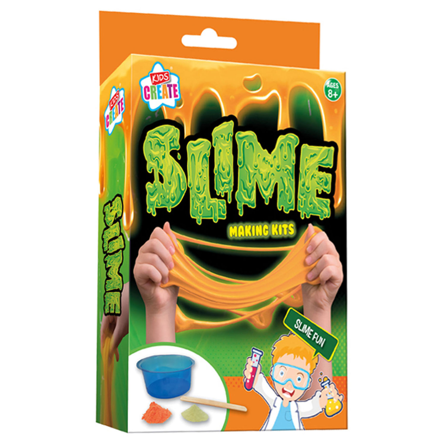 Glow in the Dark Slijm Kit