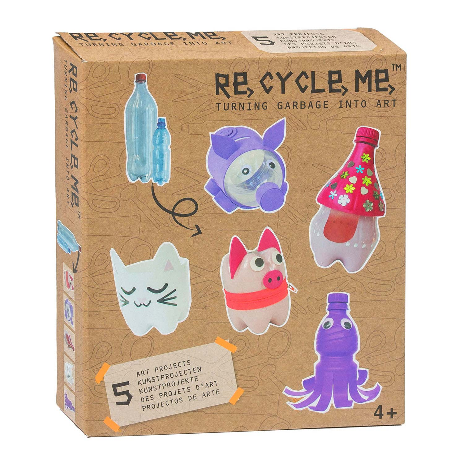 Re-Cycle-Me PET Fles