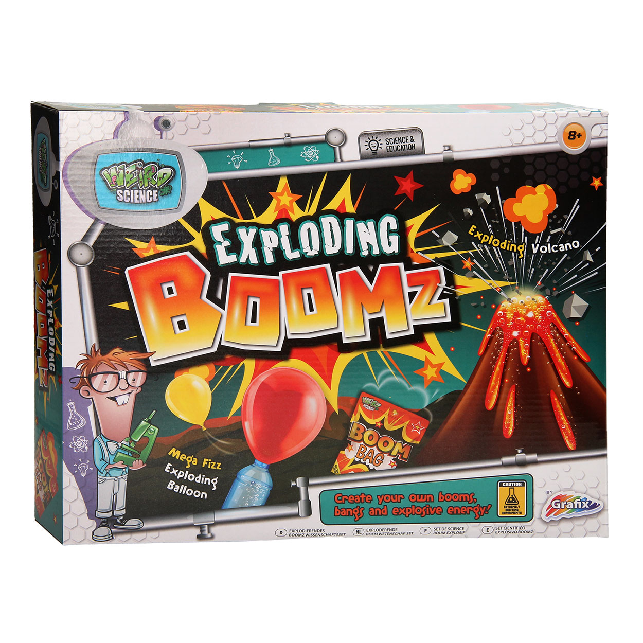 Weird Science - Exploding Boomz