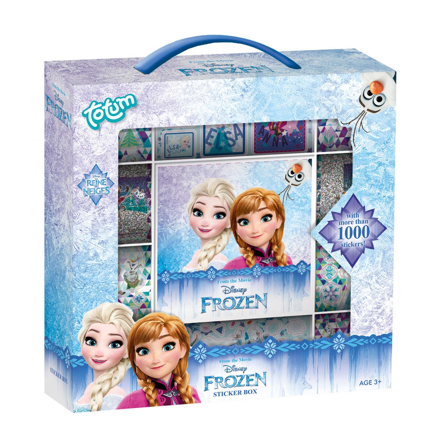 Totum Disney Frozen Stickerset Groot
