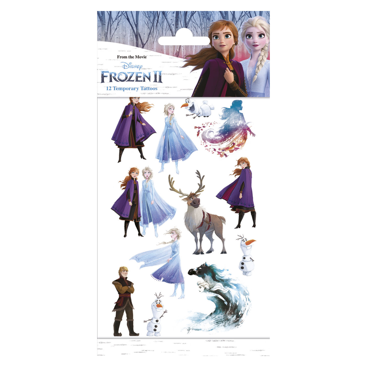 Tattoos - Disney Frozen 2