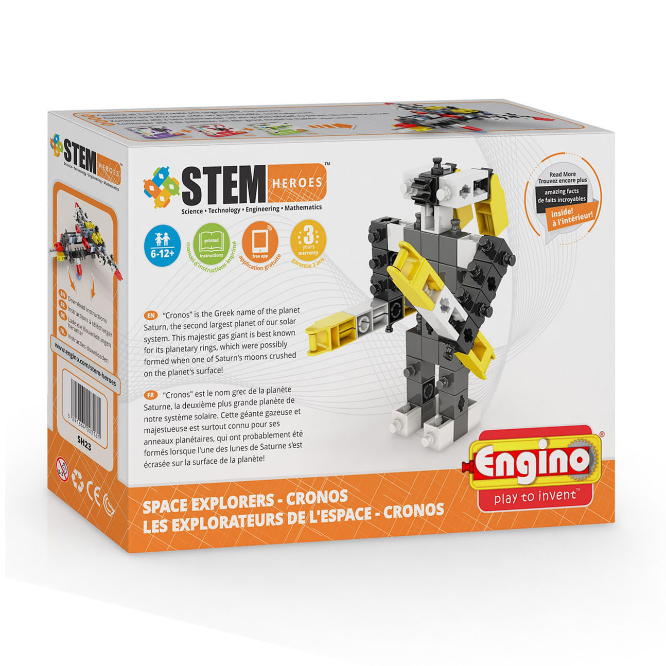 Engino STEM Heroes Space Explorers - Cronos
