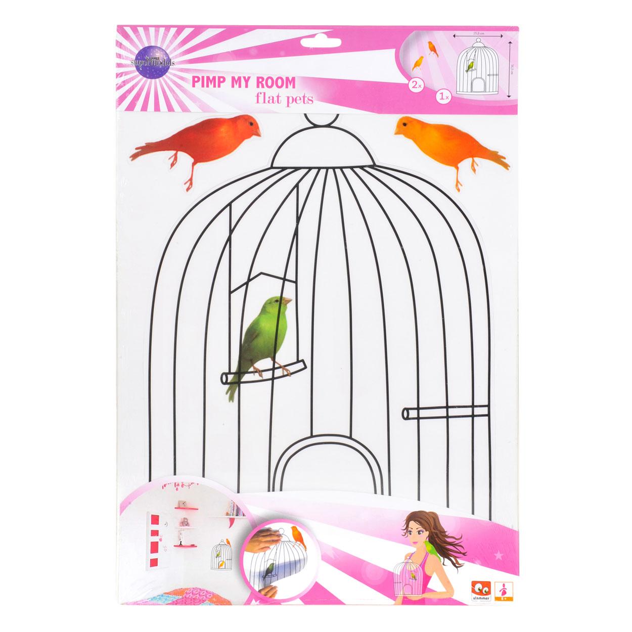 supermodels pimp my room vogels online kopen. Black Bedroom Furniture Sets. Home Design Ideas