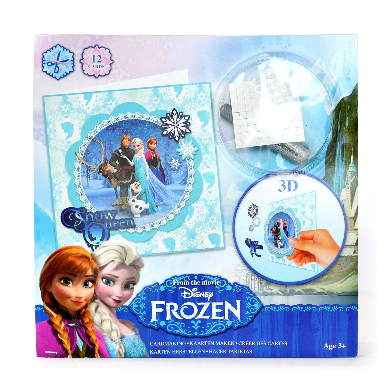 Disney frozen 3d kaarten maken online kopen for 3d slaapkamer maken