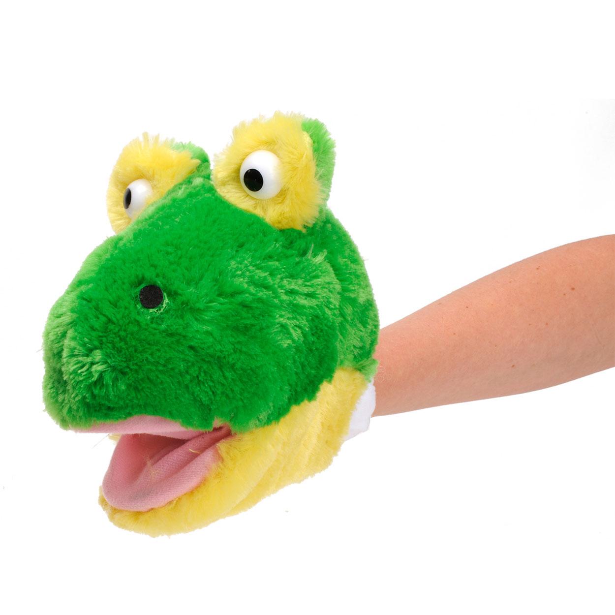 64a4a6a740fea1 Handpop Pluche Kikker online kopen | Lobbes Speelgoed