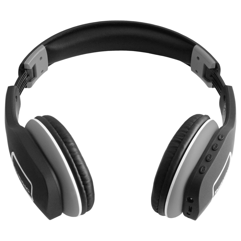 Draadloze Koptelefoon Grundig.Grundig Hoofdtelefoon Bluetooth Grijs Zwart