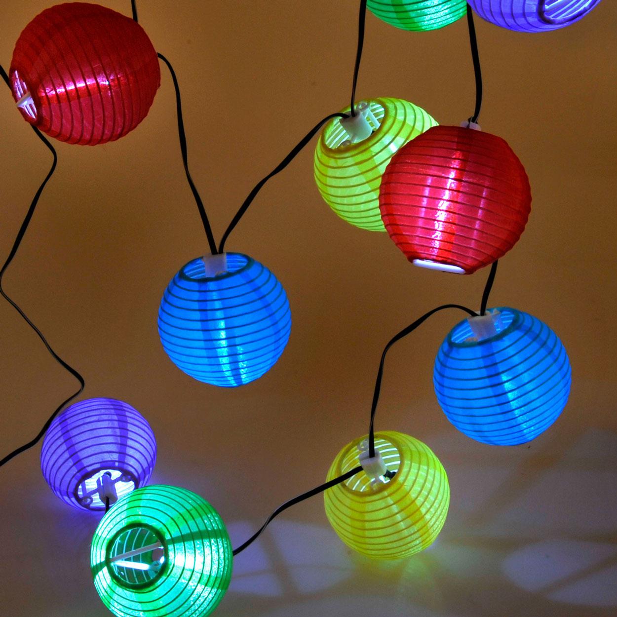 solar lampionsnoer 10 lampjes online kopen. Black Bedroom Furniture Sets. Home Design Ideas