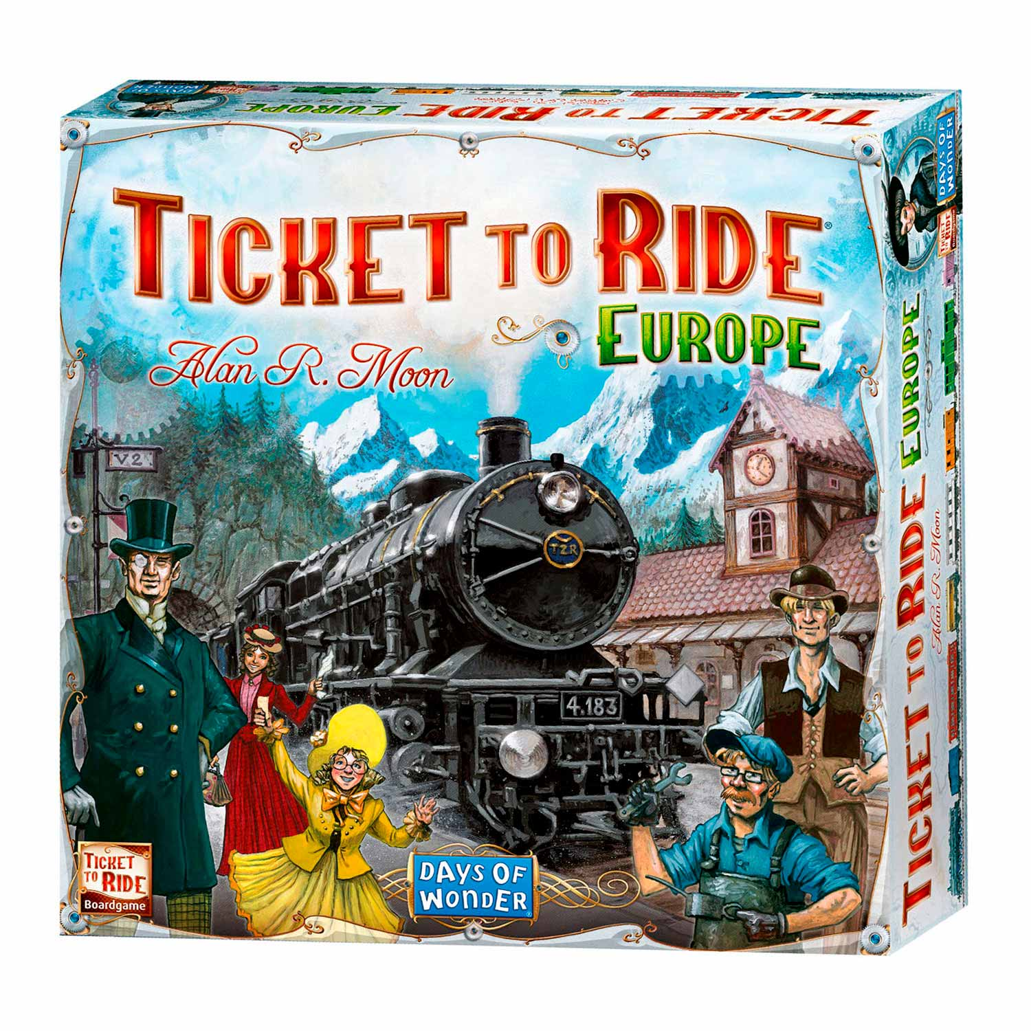 Ticket to Ride Europe Bordspel