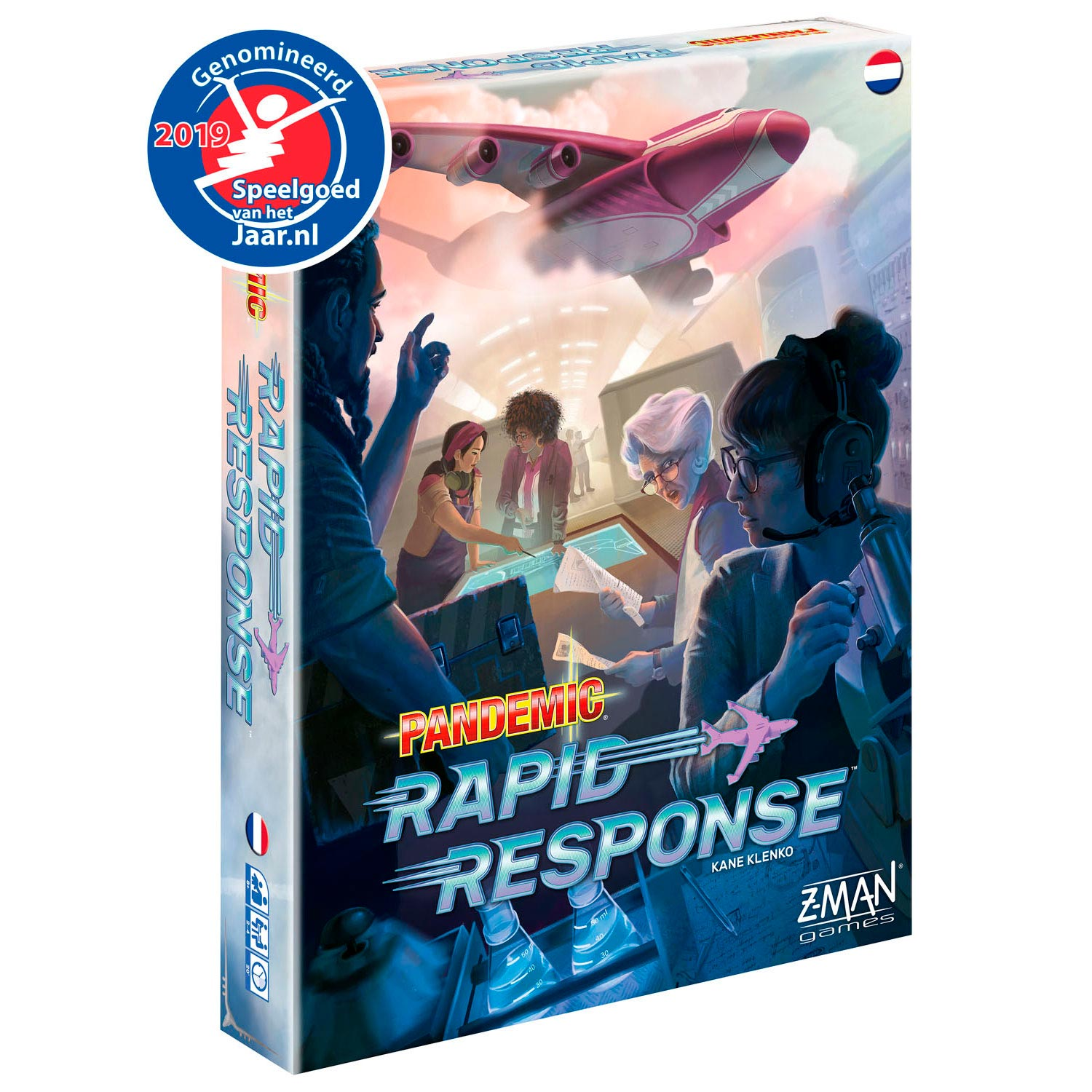Pandemic Rapid Response NL Bordspel