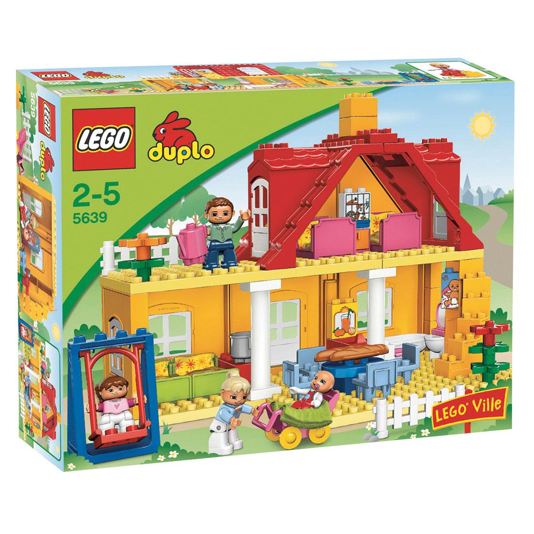 LEGO DUPLO LEGOville 5639 Familiehuis online kopen | Lobbes.nl
