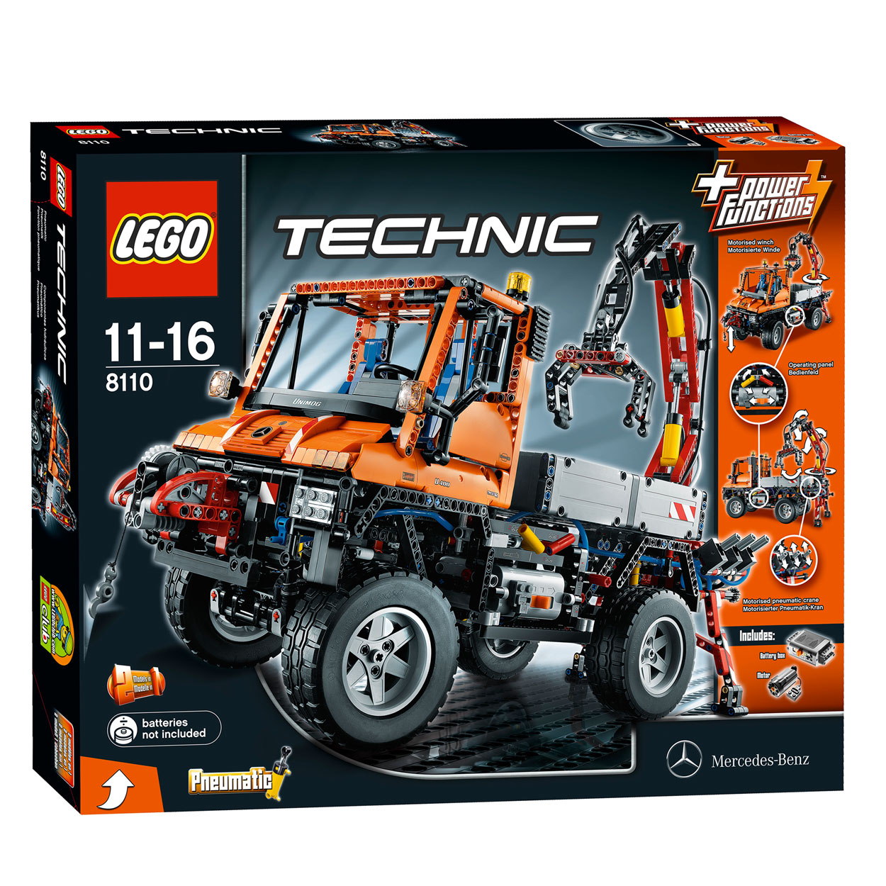 lego technic 8110 unimog u400 online kopen. Black Bedroom Furniture Sets. Home Design Ideas