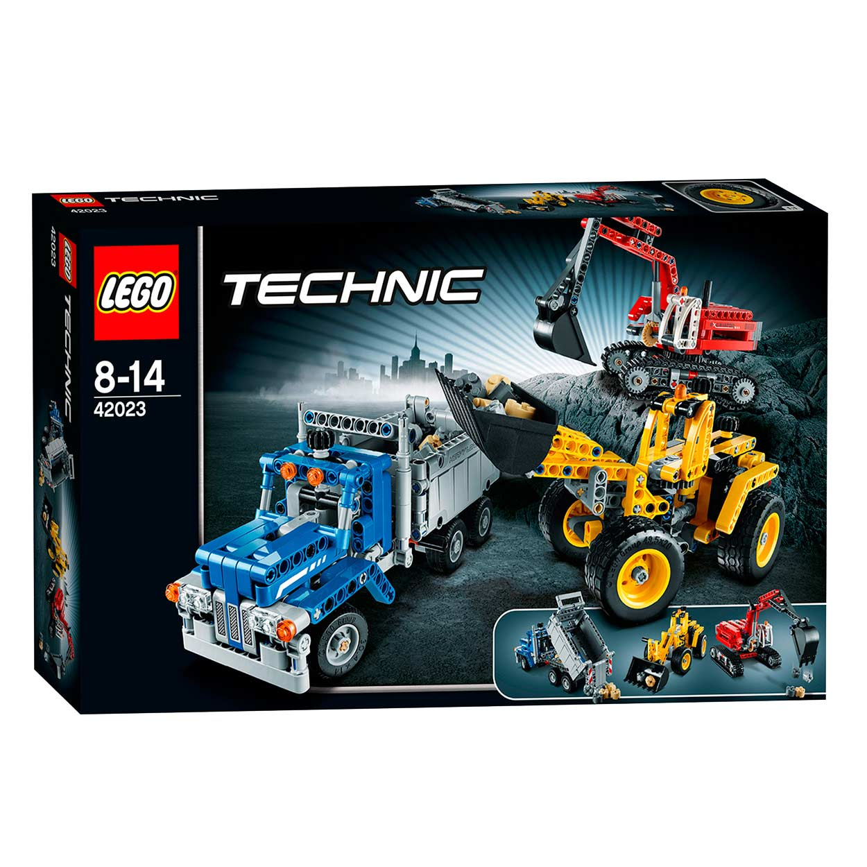 lego technic 42023 bouwploeg online kopen. Black Bedroom Furniture Sets. Home Design Ideas