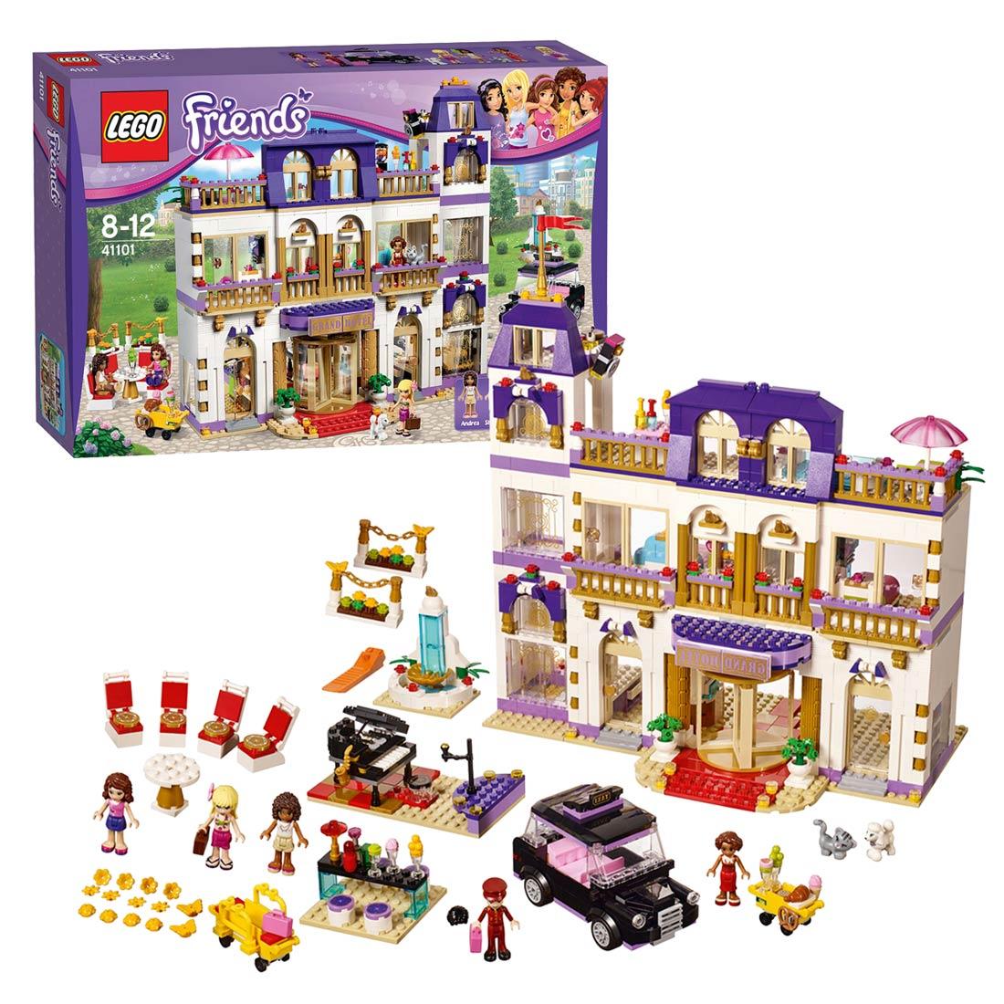 lego friends 41101 heartlake hotel online kopen. Black Bedroom Furniture Sets. Home Design Ideas