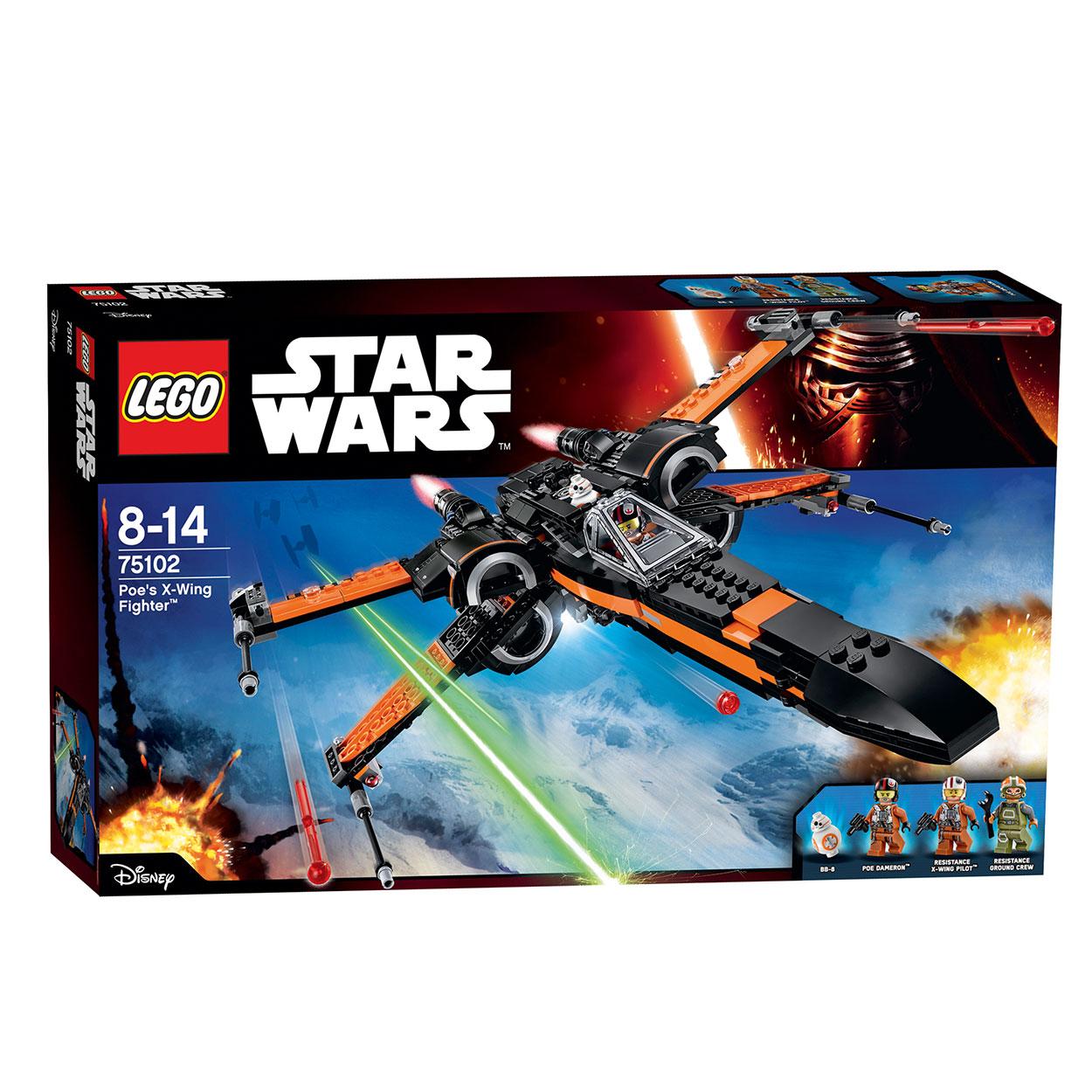 Poe S X Wing In Midi Scale: Lego Star Wars 75102 Poe's X-Wing Fighter Online Kopen