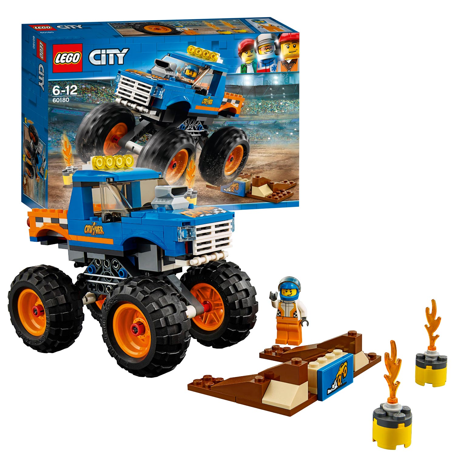 LEGO City 60180 Monstertruck