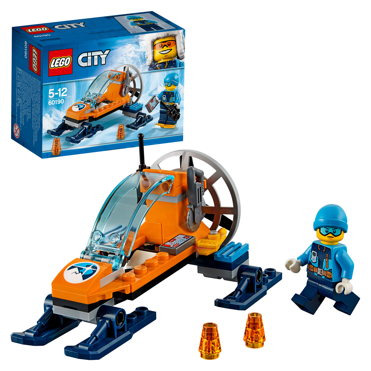 LEGO City Arctic Expedition 60190 Poolijsglider
