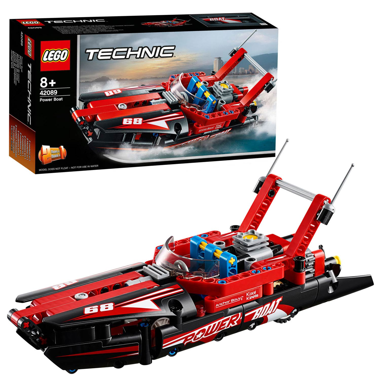 LEGO Technic 42089 Powerboat