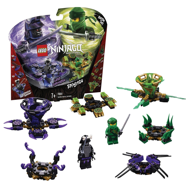 Wonderbaar LEGO Ninjago 70664 Spinjitzu Lloyd vs. Garmadon online kopen XX-93