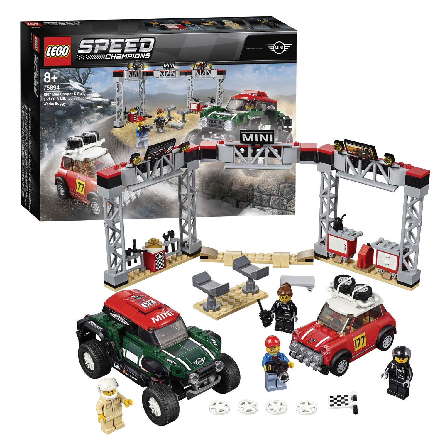 LEGO Speed Champions 75894 Mini Cooper S Rally 1967 en 2018