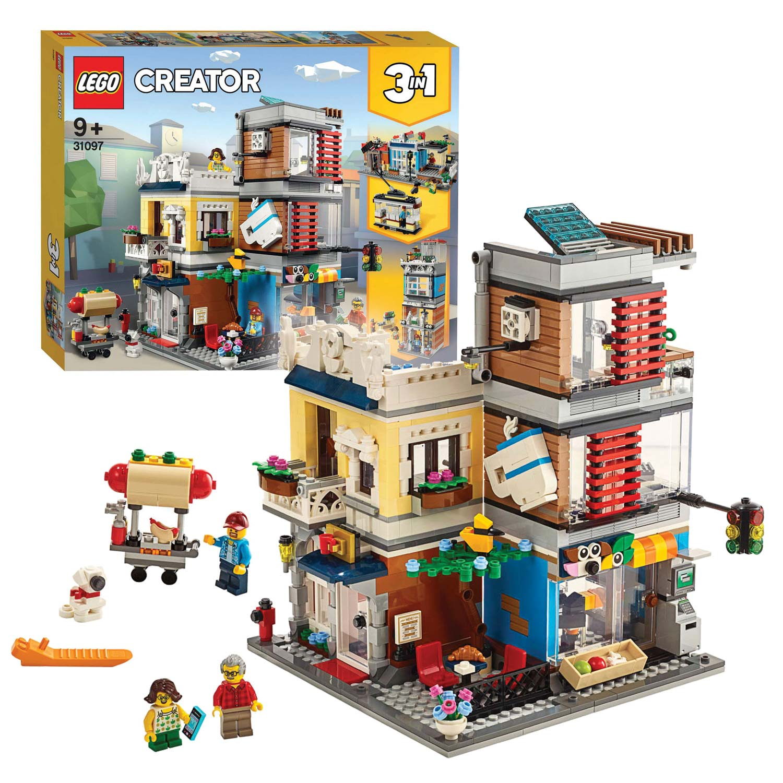 Verwonderlijk LEGO Creator 31097 Woonhuis, Dierenwinkel & Café online kopen AI-91