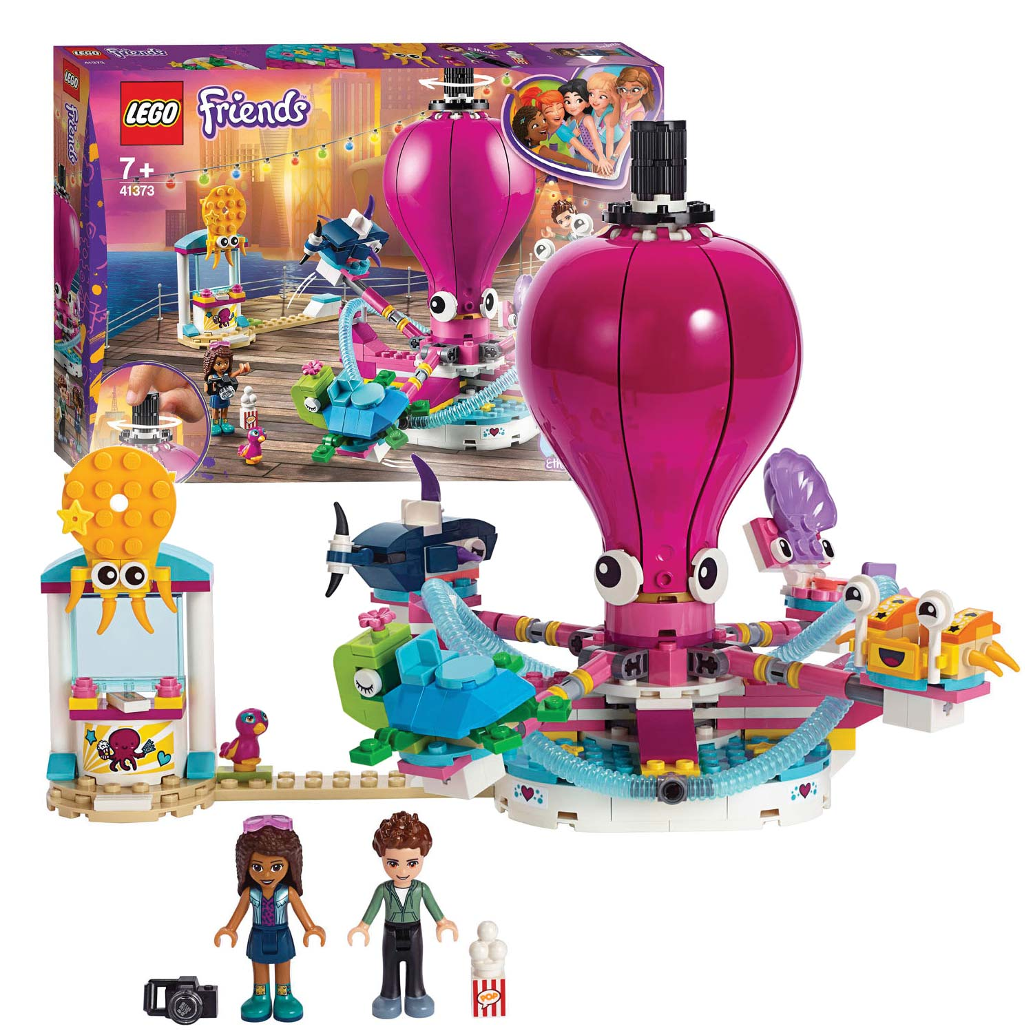 LEGO Friends 41373 Gave Octopusrit