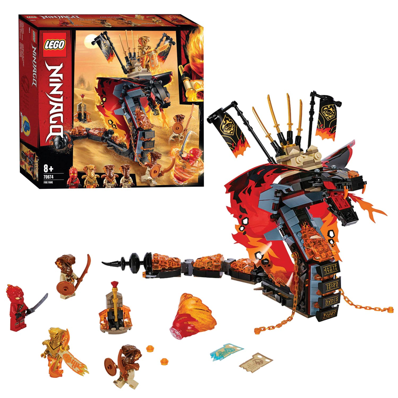 Goede LEGO Ninjago 70674 Vuurtand online kopen | Lobbes Speelgoed PF-44