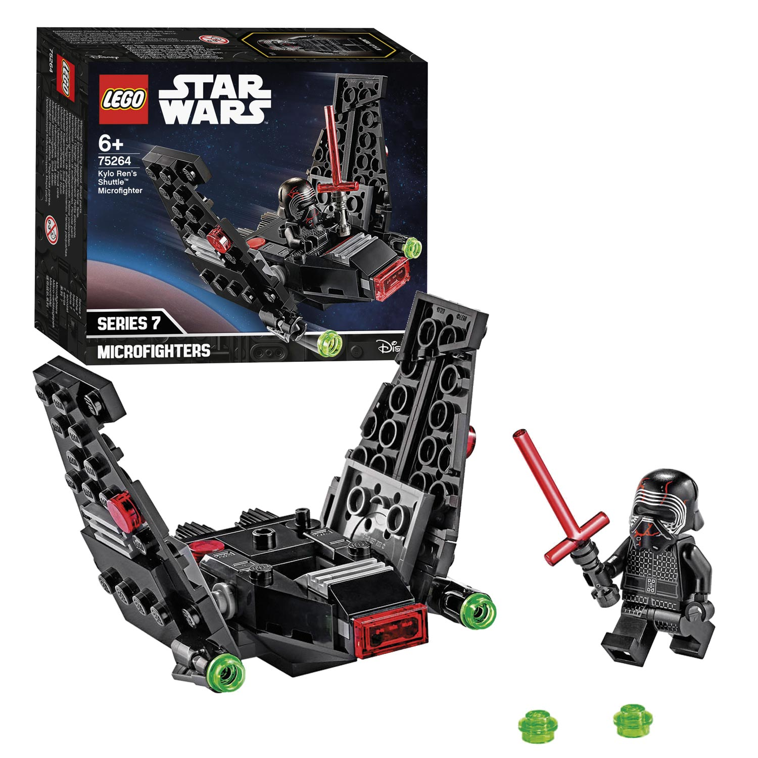 LEGO Star Wars 75264 Episode Kylo Rens Shuttle Microfighter
