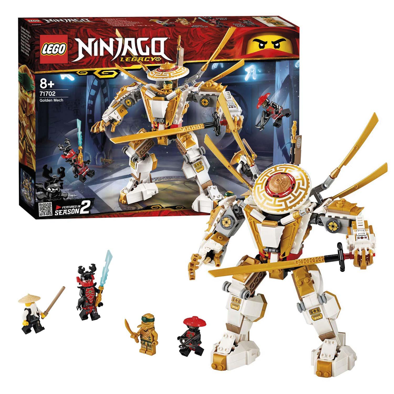 Uitgelezene LEGO Ninjago 71702 Gouden Mech online kopen | Lobbes Speelgoed GQ-24