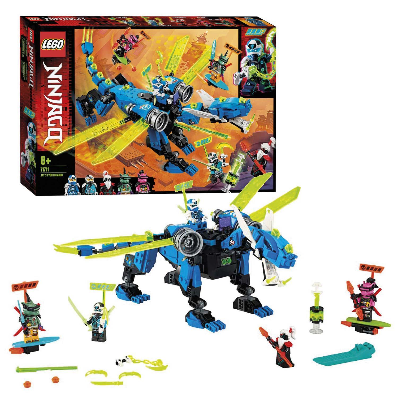 Betere LEGO Ninjago 71711 Jay's Cyberdraak online kopen | Lobbes PZ-49