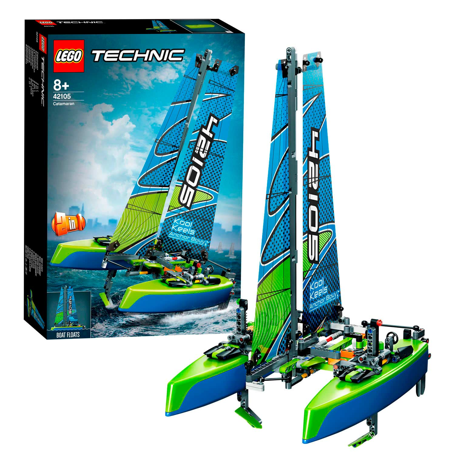 LEGO Technic 42105 Catamaran