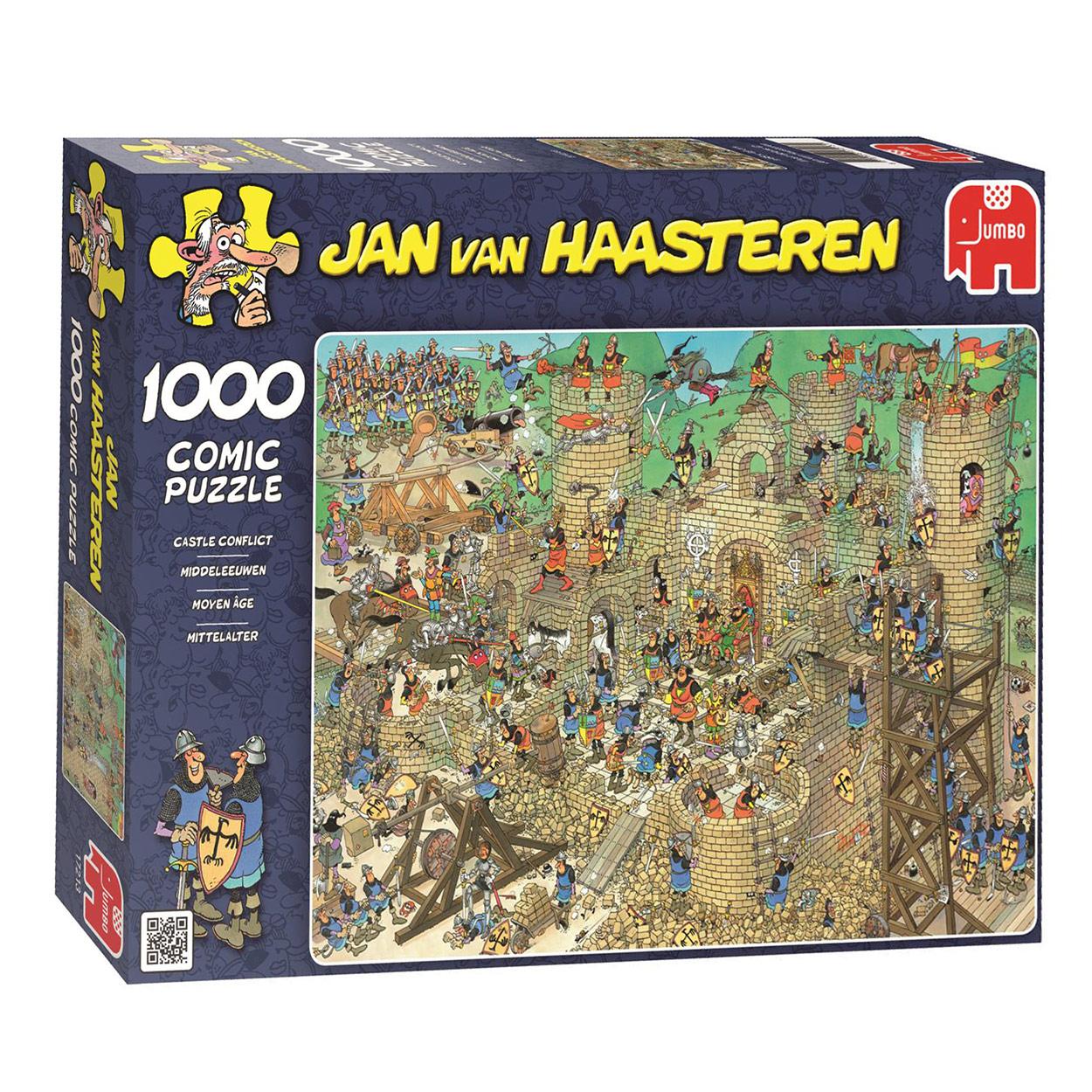 Jan Van Haasteren Middeleeuwen 1000st Online Kopen Lobbesnl