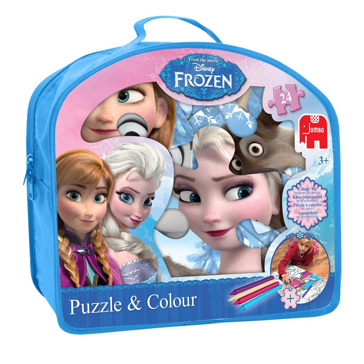 Disney Frozen Puzzel Amp Kleurplaat Online Kopen Lobbes Nl