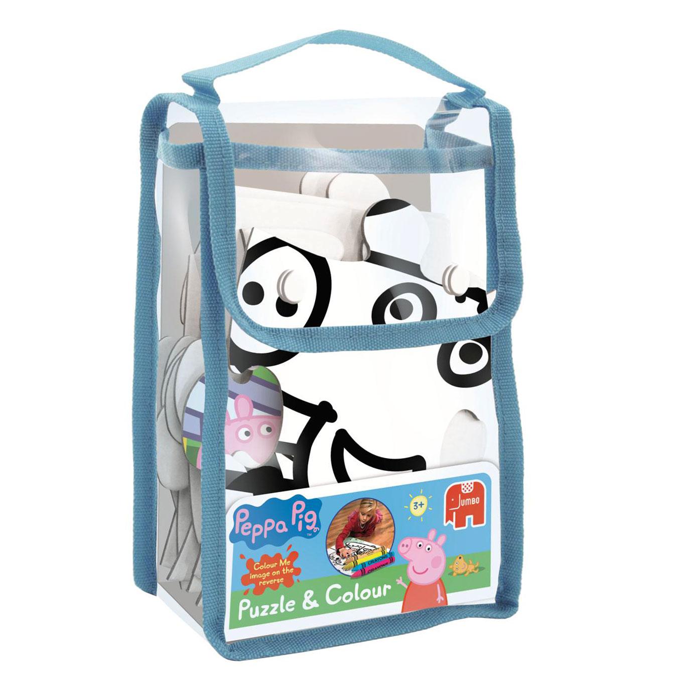 Peppa Pig Puzzel Amp Kleur Online Kopen Lobbes Nl