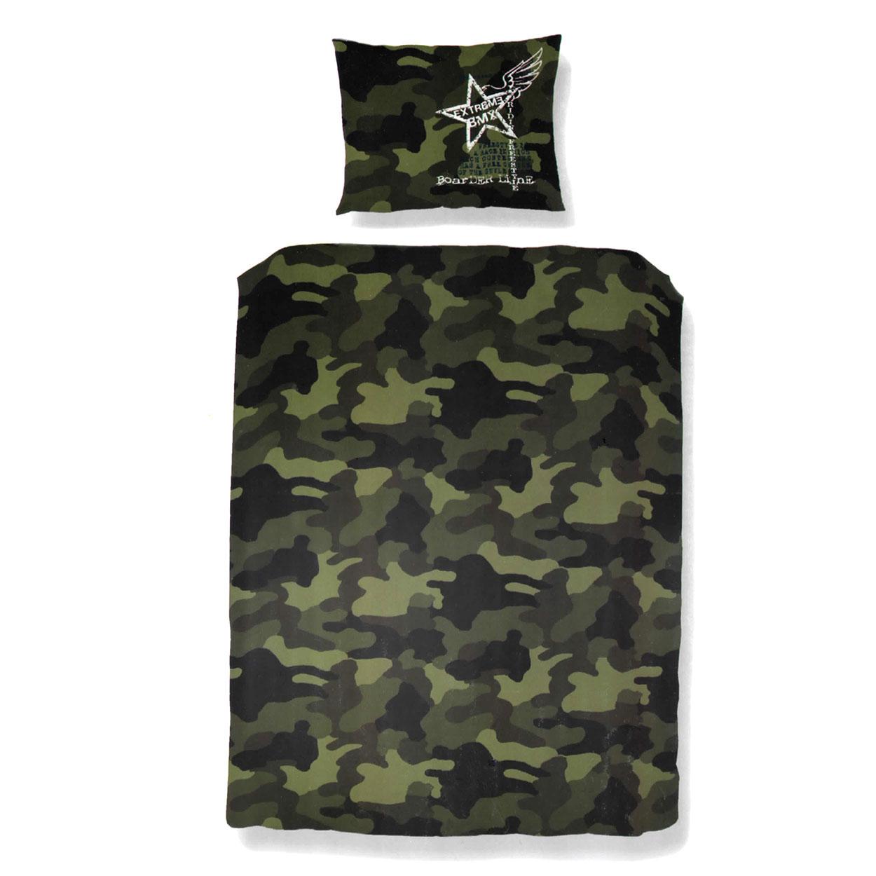 Dekbedovertrek Jungle Camouflage online kopen : Lobbes.nl