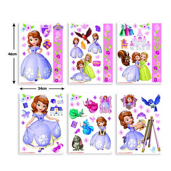 Walltastic Muurstickers Disney Sofia het Prinsesje online kopen ...