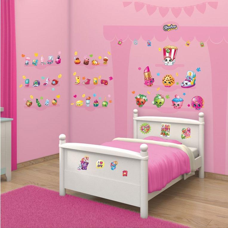 Walltastic muurstickers shopkins online kopen - Nacht kamer decoratie ...
