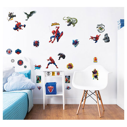 Muurstickers Kinderkamer Spiderman.Walltastic Muurstickers Spiderman Online Kopen Lobbes Nl