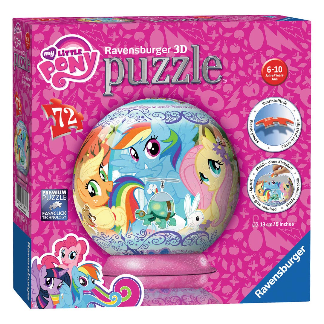 My Little Pony Puzzelbal, 72st.